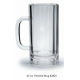 Plastic Beer Mugs - 25 oz. Paneled (Case of 12)