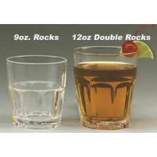 Elite 12 oz. Double Rocks (36 per Case)
