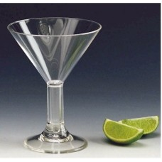 10 oz. Plastic Martini Glasses (24 per Case)
