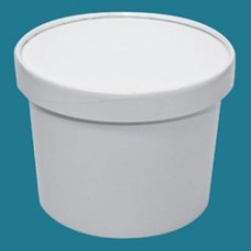 White Paper To Go Container - Half Gallon 64 oz (252/Case)