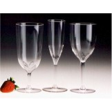 Plastic Wine Glasses | Champagne Glasses (6)