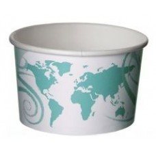 12oz World Delight Paper Eco Container (500/Case)