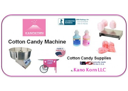 Cotton Candy Machines & Supplies