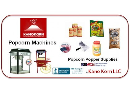 Popcorn Machine & Supplies