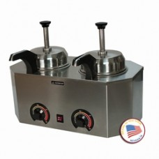 Pro-Deluxe #10 Can Dual Warmer-Heated Frontside Control