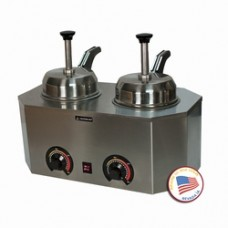 Pro-Deluxe #10 Can Dual Warmer-Heated Backside Control