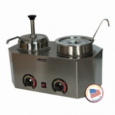 Pro-Deluxe #10 Can Dual Warmer (Ladle/Pump)