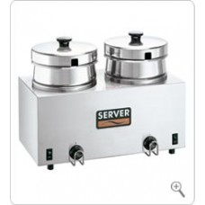 Food Warmer/Server Twin FS-4