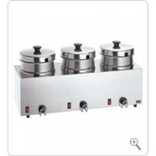 Food Warmer/Server Triple FS-4