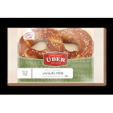 Uber Soft Pretzels - Unsalted (48/Case)