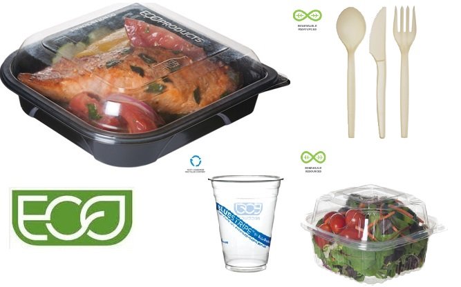 Eco Friendly Cups, Containers, Dinnerware, Takeout Containers, & Cutlery