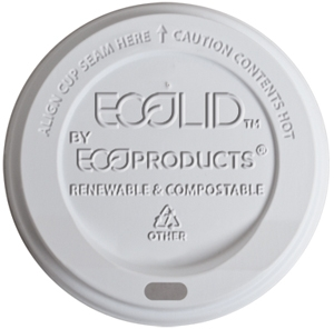 Eco Compostable 10-20 oz. Hot Cup Lid (800 ct.)